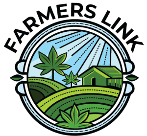 Farmer's Link 1 hour weed delivery in Toronto Ontario logo