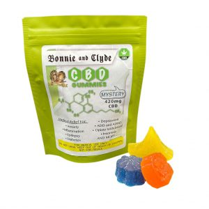 Bonnie and Clyde CBD Mystery Gummies