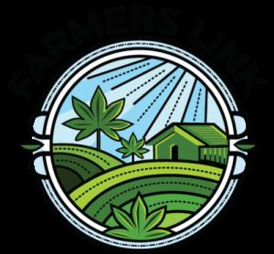 Farmer's Link - 1 hour same day marijuana dispensary delivery to Toronto, Brampton, and Barrie logo